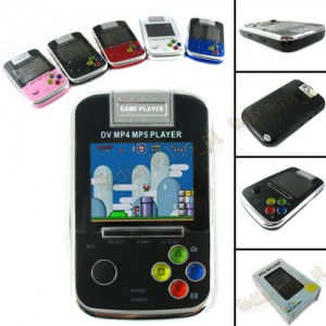 GM4  GameBoy 4GB MP3 MP4 MP5 MULTIMEDIA CZARNY